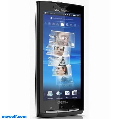 Sony Ericsson Xperia X10 تعرف على اجهزة سوني اريكسون Sony Ericsson العامله بنظام اندرويد