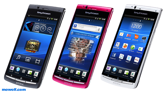 Sony Ericsson Xperia acro IS11S تعرف على اجهزة سوني اريكسون Sony Ericsson العامله بنظام اندرويد