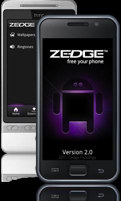 تطبيق Zedge لاجهزة اندرويد