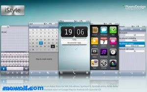 iOS style