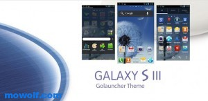 Galaxy S3 GO Launcher EX Theme 300x146  Galaxy S3  2012  