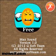 برنامج تضخيم الصوت Max Sound لاجهزة نوكيا سمبيان 3 ومافوق