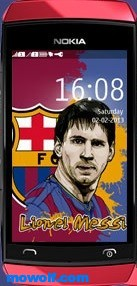 Messi-full-touch-theme
